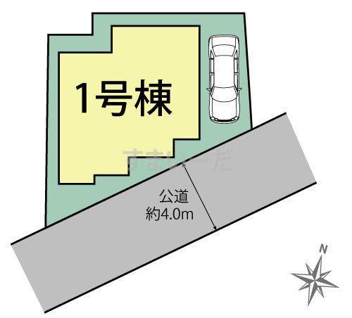 ブルーミングガーデン 志木市本町4丁目1棟の見取り図