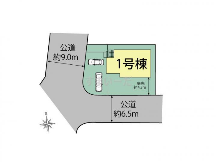 ブルーミングガーデン 横浜市栄区本郷台4丁目1棟-長期優良住宅-の見取り図