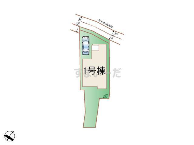 ハートフルタウン 神戸長田東尻池町Ⅱの見取り図