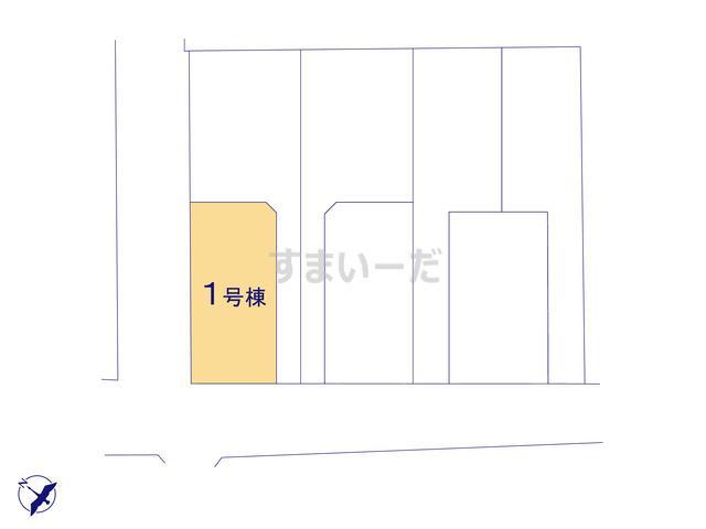 リナージュ 志免町志免東20-1期の見取り図