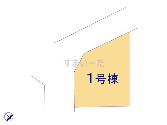 クレイドルガーデン 小田原市飯泉 第21の見取り図
