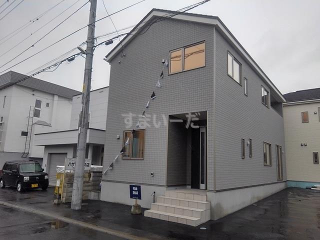 クレイドルガーデン 札幌市白石区平和通 第3の外観①
