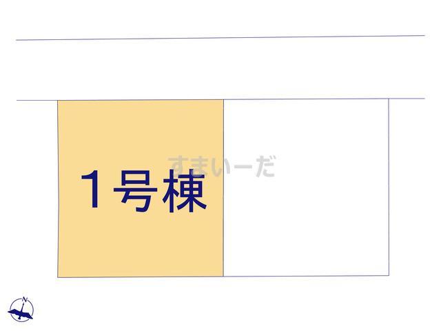 クレイドルガーデン 上田市中之条 第1の見取り図