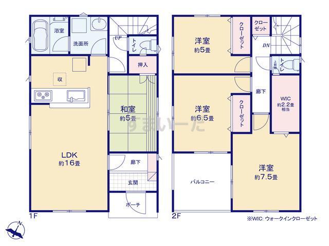 クレイドルガーデン 相模原市中央区青葉 第11の見取り図