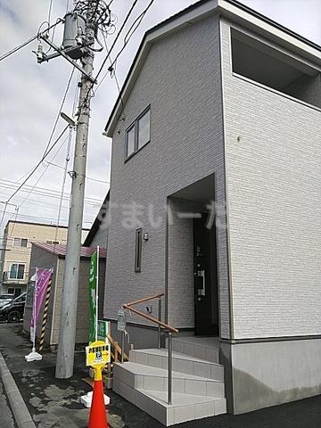 クレイドルガーデン 札幌市東区北三十六条東 第4の外観①