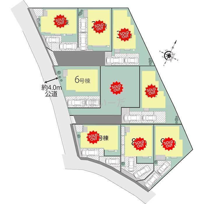ブルーミングガーデン 横浜市旭区川井本町2期9棟-長期優良住宅-の見取り図