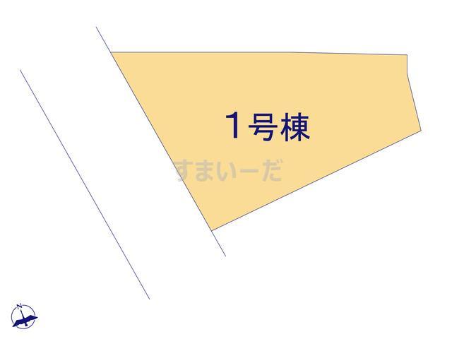グラファーレ 沖縄市住吉1棟の見取り図