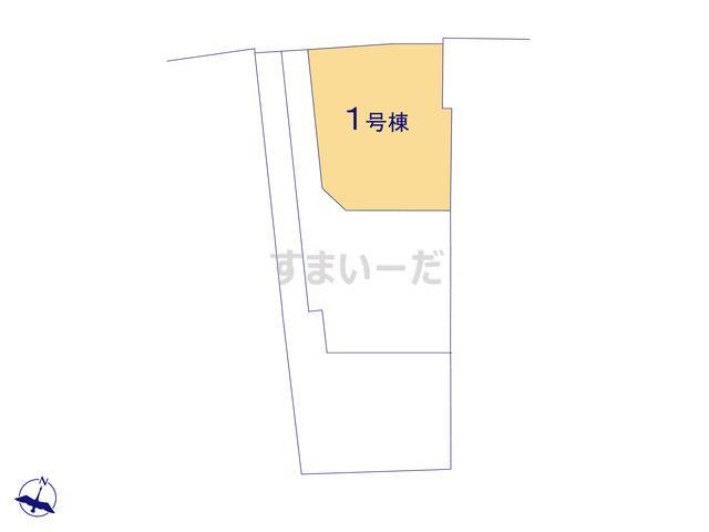 クレイドルガーデン 福岡市東区奈多 第4の見取り図