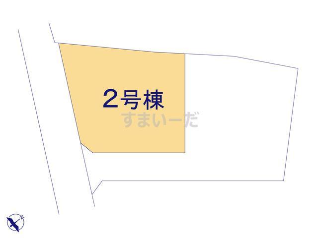 クレイドルガーデン 千曲市新田 第3の見取り図