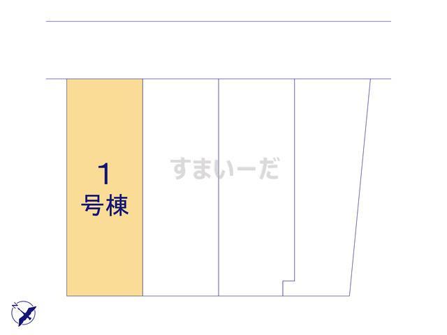 グラファーレ 相模原市当麻3期4棟の見取り図