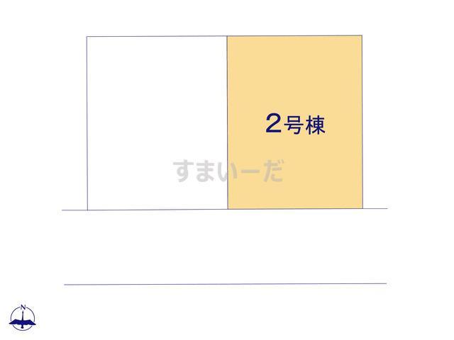 グラファーレ 札幌市星置3期2棟の見取り図