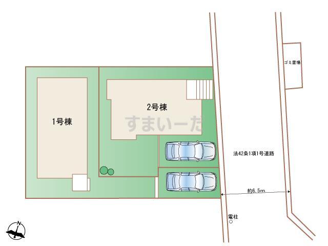 ハートフルタウン 神戸西学園東町Ⅲの見取り図