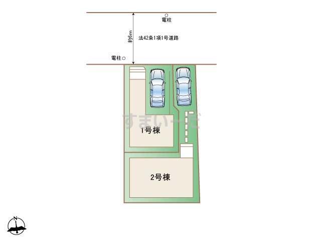 ハートフルタウン 中野江原町2丁目の見取り図