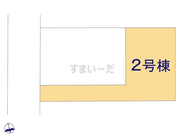 クレイドルガーデン 伊勢崎市境栄 第3の見取り図