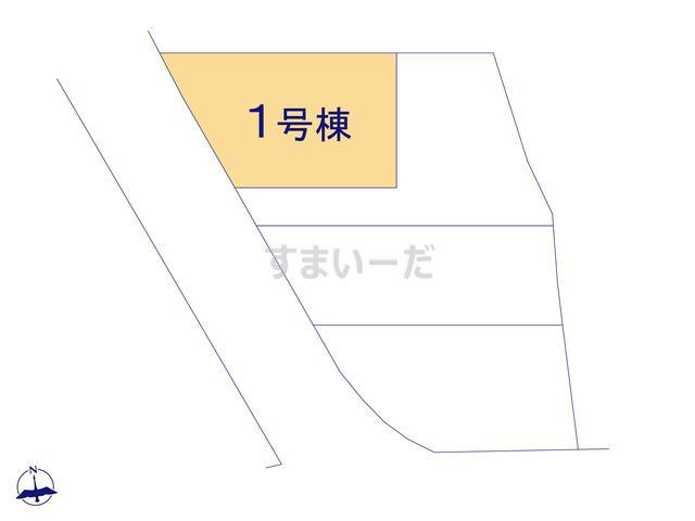 グラファーレ 名護市屋部4棟の見取り図