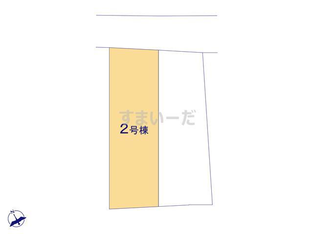 クレイドルガーデン 浦添市屋富祖 第1の見取り図