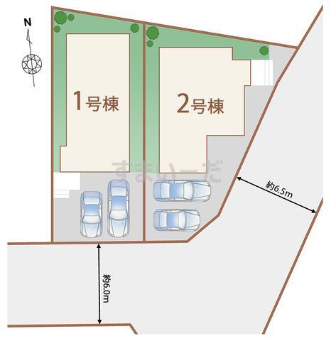 ハートフルタウン 仙台四郎丸14期の見取り図