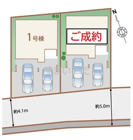 ハートフルタウン 仙台子平町の見取り図
