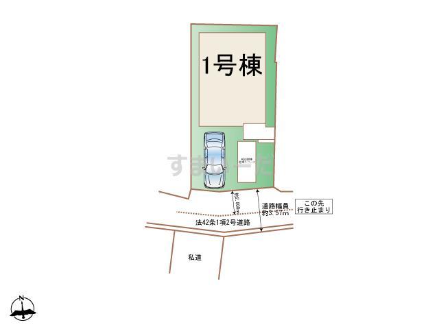 ハートフルタウン 神戸垂水城が山の見取り図