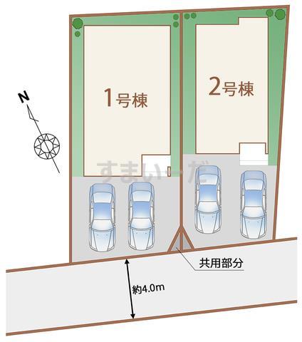 ハートフルタウン 仙台旭ヶ丘13期の見取り図