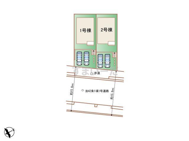 ハートフルタウン 神戸北鈴蘭台南町Ⅲの見取り図