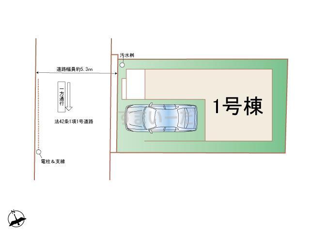 ハートフルタウン (西宮)尼崎元浜町の見取り図