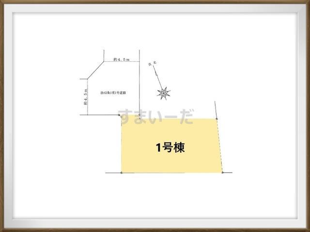 ハートフルタウン 葛飾区立石4期の見取り図