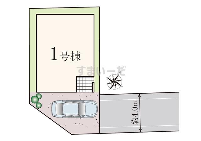 葛飾区高砂6丁目IIの見取り図