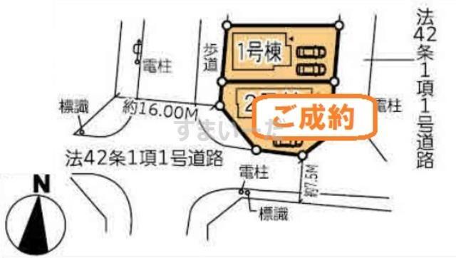 ハートフルタウン 泉区加茂IV期の見取り図