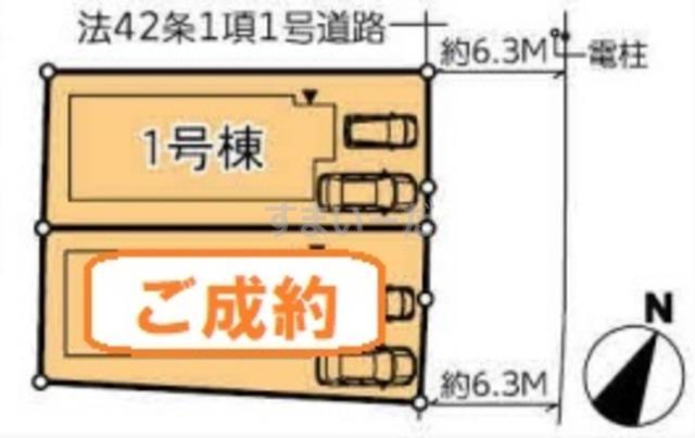ハートフルタウン 泉区鶴が丘3丁目I期の見取り図