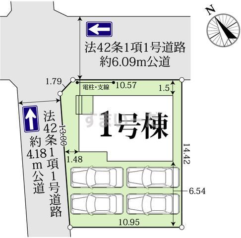 グラファーレ 浜松市雄踏町宇布見1棟の見取り図