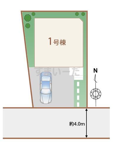 ハートフルタウン 調布富士見町4丁目の見取り図