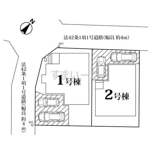 ハートフルタウン さいたま西区佐知川11期の見取り図