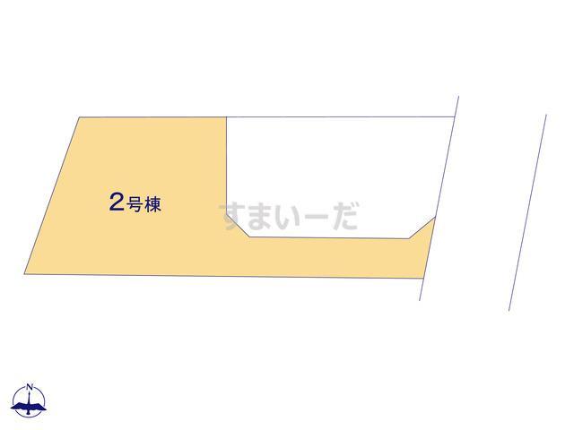 クレイドルガーデン 伊勢崎市若葉町 第3の見取り図