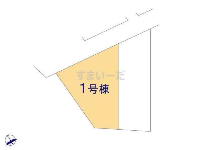 グラファーレ 八重瀬町富盛3期2棟の見取り図