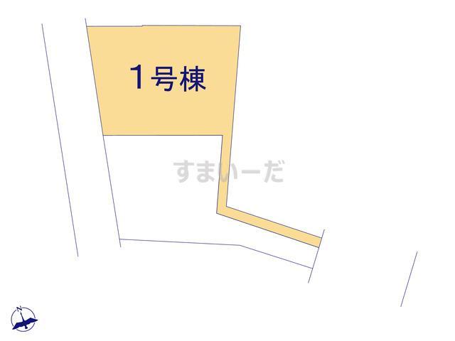 グラファーレ 所沢市中新井20期2棟の見取り図