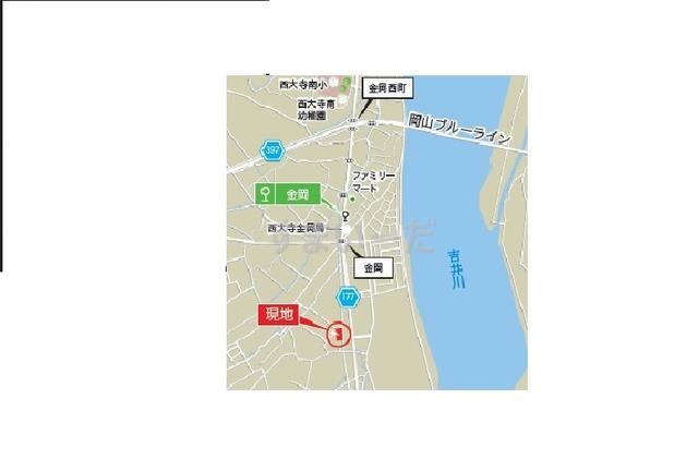 グラファーレ 岡山市金岡西町4棟の見取り図
