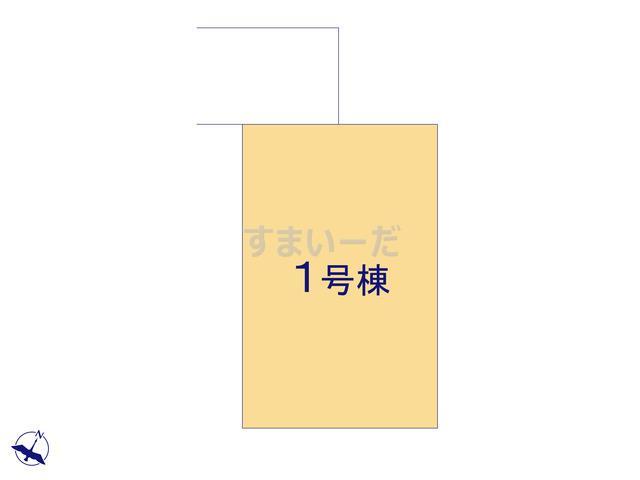 ハートフルタウン 狭山富士見8期の見取り図