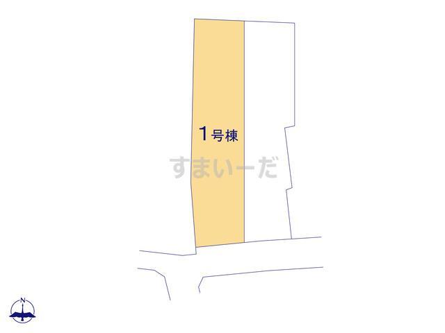 ハートフルタウン 武豊町小迎の見取り図