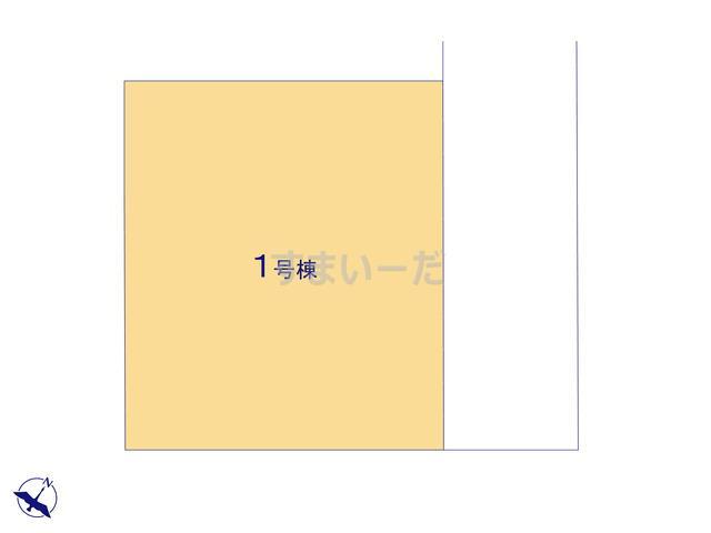 ハートフルタウン 狭山北入曽14期の見取り図