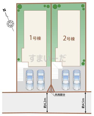 ハートフルタウン 仙台八木山弥生町の見取り図