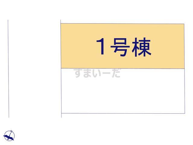 クレイドルガーデン 福岡市西区田尻 第3の見取り図