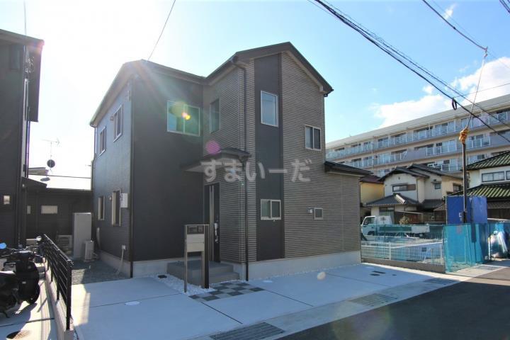 ブルーミングガーデン 姫路市飾磨区構1丁目1棟-長期優良住宅-の外観①