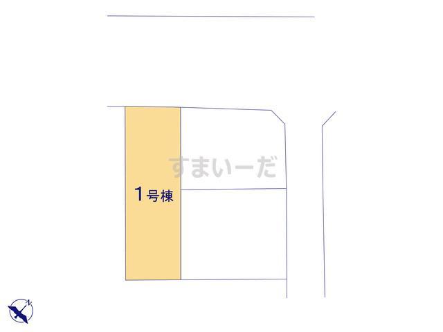 ハートフルタウン 葵区上足洗5期の見取り図