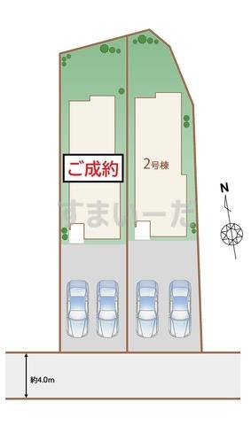 ハートフルタウン 仙台平成8期の見取り図