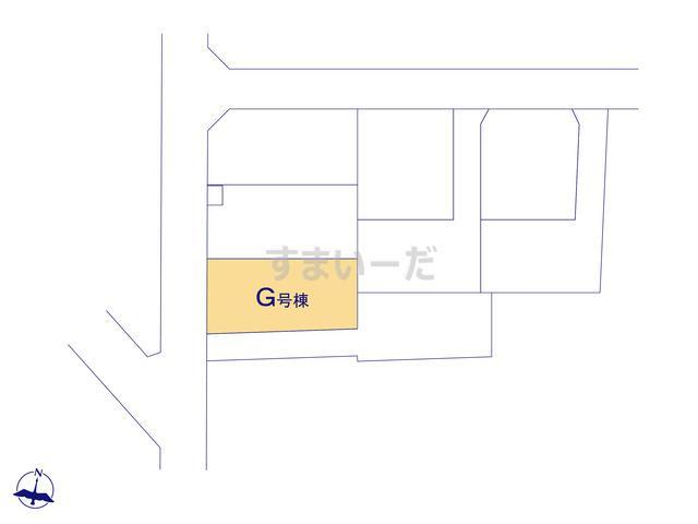 ハートフルタウン 大宮区三橋第3の見取り図