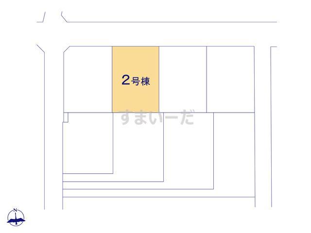 クレイドルガーデン 伊勢崎市曲沢町 第4の見取り図