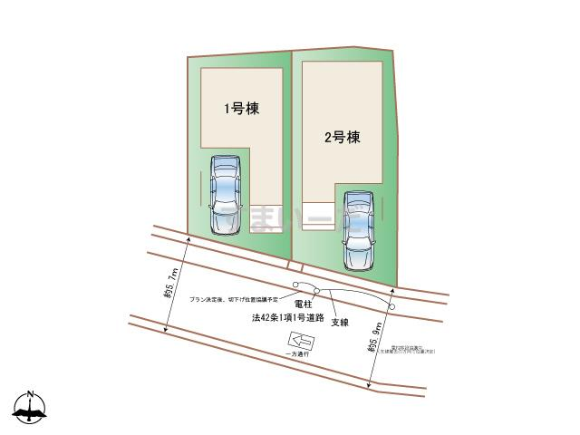 ハートフルタウン (西宮)神戸東灘区魚崎南町の見取り図