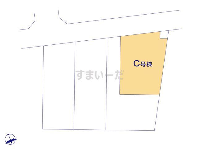ハートフルタウン さいたま緑区三室第12期の見取り図
