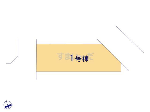グラファーレ 仙台市青山4期1棟の見取り図